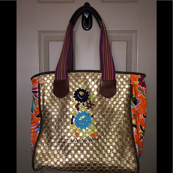 d9942be57a6 Consuela Handbags - Consuela Tote - Beautiful gold quilted look